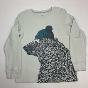 Carter's graphic thermal tee
